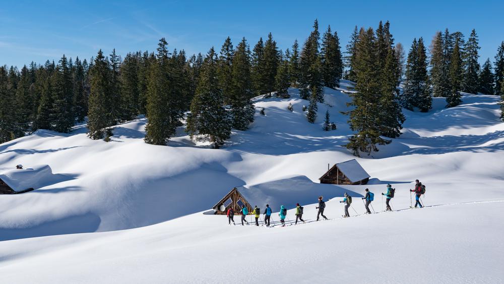outdoorer Schneeschuh Wandern Ausrüstung