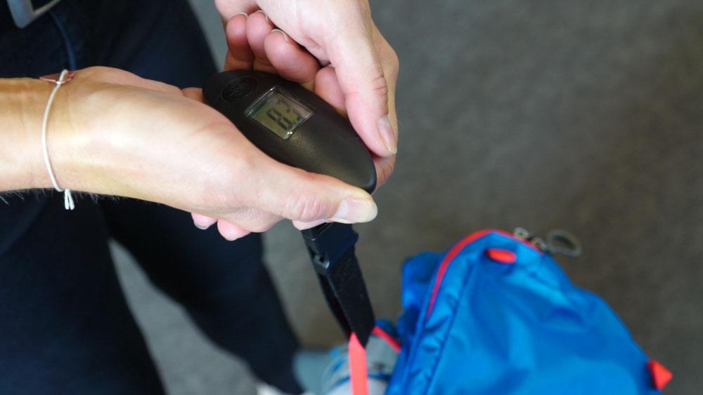 Bei Jakobsweg Rucksack Gewicht einsparen