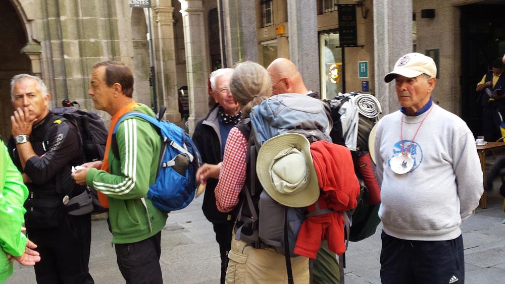 Jakobsweg Grupepenwanderungen