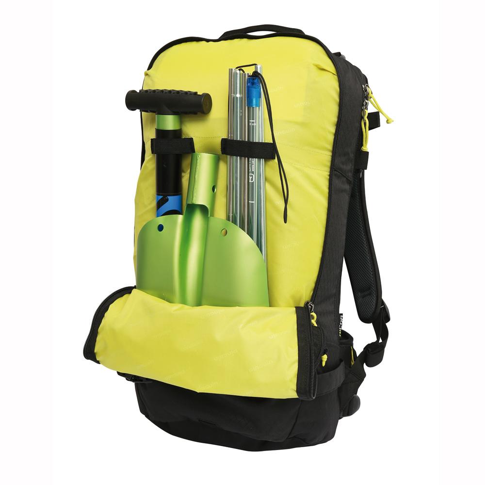 27 l Rucksack mit Lawinenschutzausrüstung