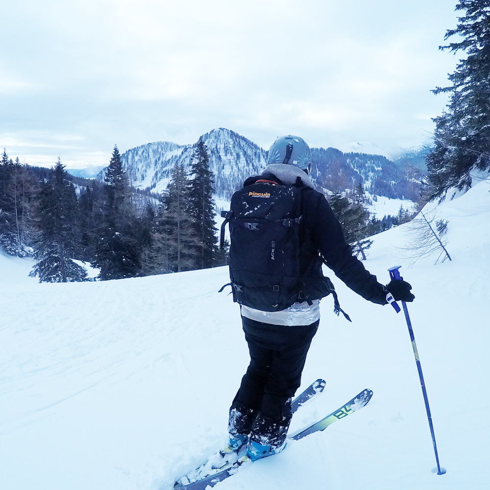 Skitourenrucksack Ace 27 von Pinguin