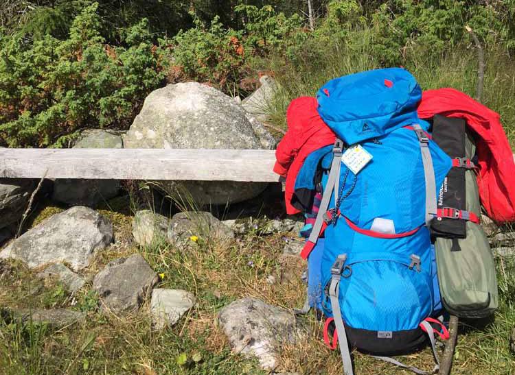 Pilgerrucksack Olavsweg Camino Azul
