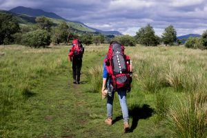 Backpacker Reise Schottland