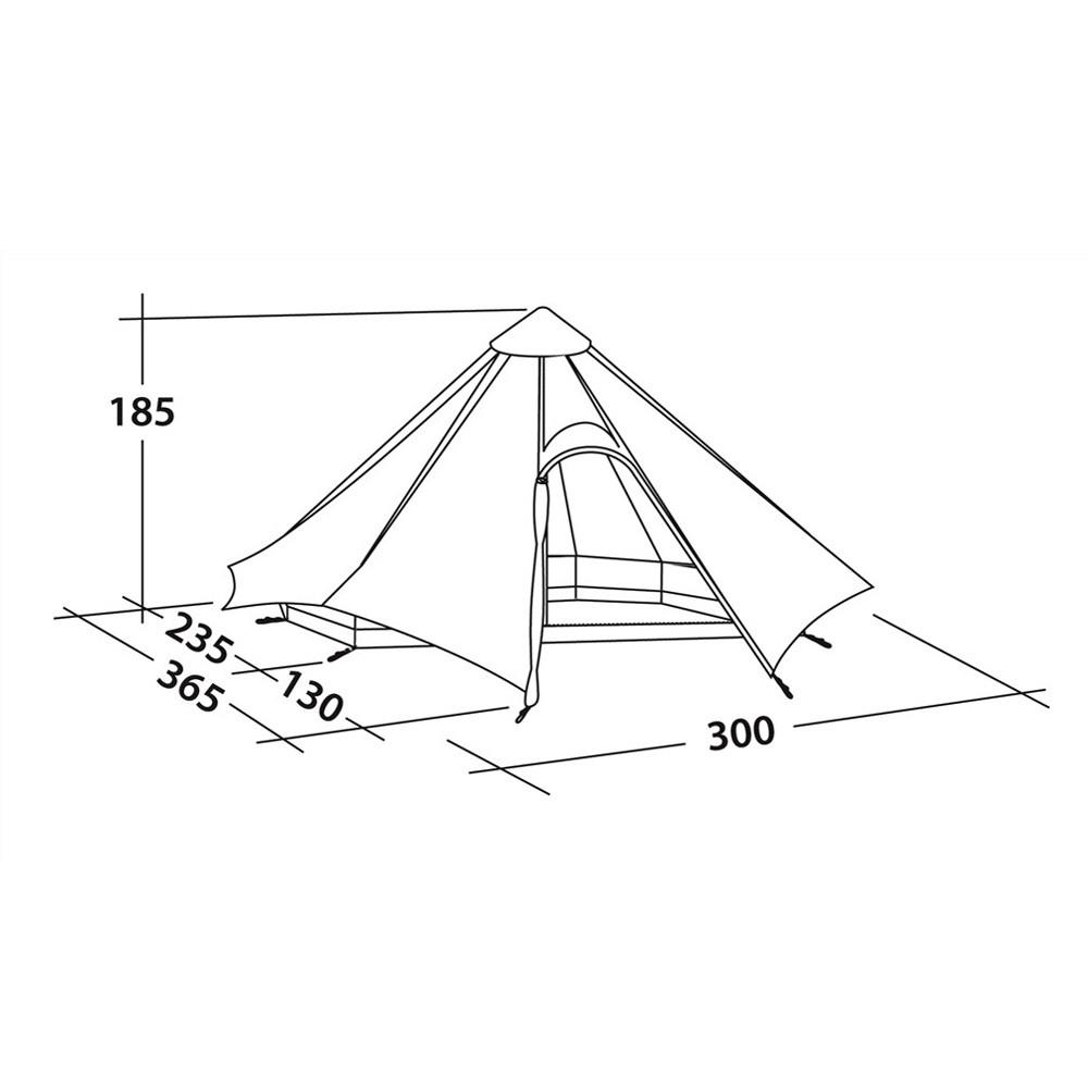 baumwollzelt f r 4 personen outdoorshop123. Black Bedroom Furniture Sets. Home Design Ideas