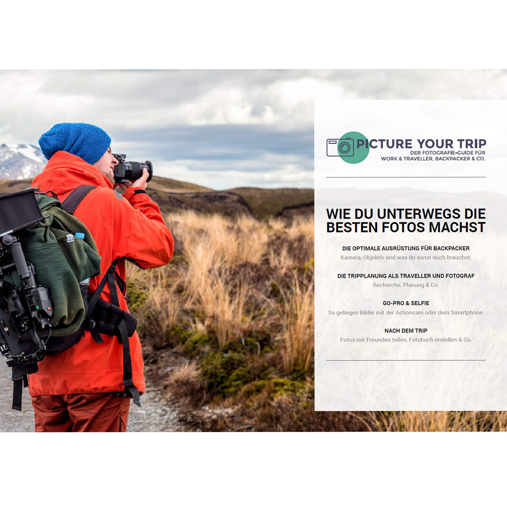 Reisefotografie Guide Cover