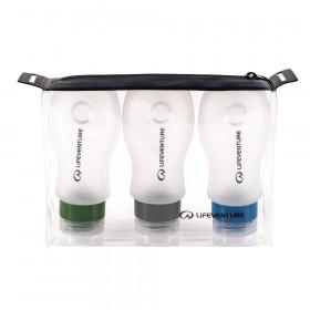 Reiseflaschen Set für Kosmetik im Handgepäck