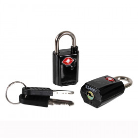 2er Set TSA Reiseschlösser mit Schlüssel