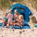 Familien Strandmuschel Zack Premium Baby Kind und Meer
