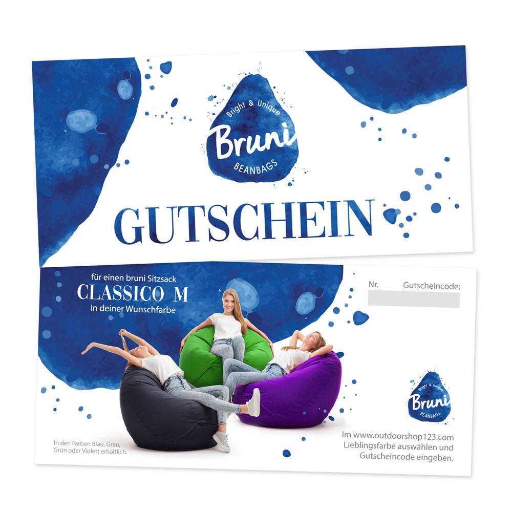 Bruni Classico Sitzsack - M - Gutschein