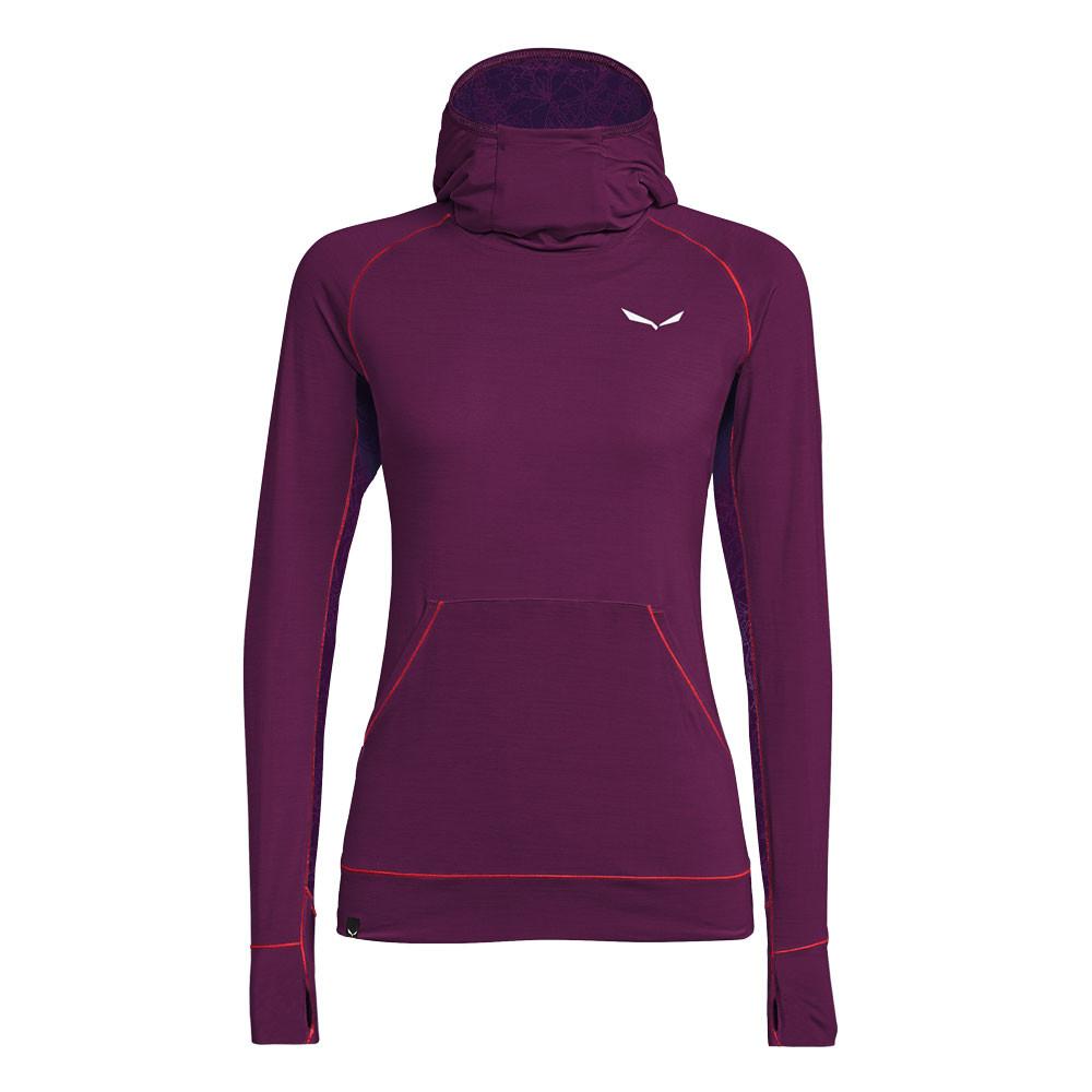 Kapuzenshirt purple