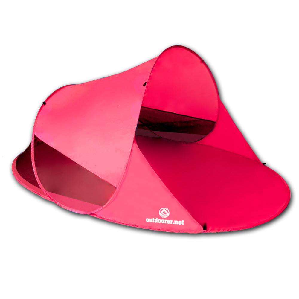 Popup Strandmuschel Zack II - pink edition