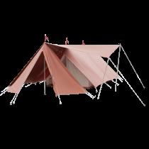Gruppen Spatz mit Vordach und Vorderapsis