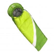 Mitwachsender Kinderschlafsack in Grün