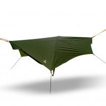 outdoorer Trek FoRest - leichte Outdoor Hängematte mit Moskitonetz und Tarp, Moskitoschutz