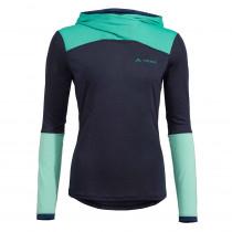 Funktionales Langarm Sportshirt Damen mit Kapuze – Vaude Tremalzo Shirt
