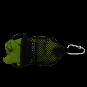 Reisehandtuch PackDRY S - das Mikrofaser Handtuch: ultraleicht, schnelltrocknend, kleines Packmaß