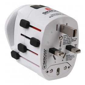 Reisestecker 'World Pro World' Adapter von Skross - Reiseadapter für 205 Länder