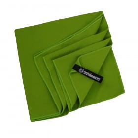 Trekkinghandtuch PackDRY - das Microfaser Handtuch: ultraleicht, schnelltrocknend, kleines Packmaß