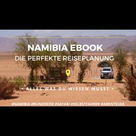 Reiseführer Namibia ebook - die perfekte Rundreise Planung