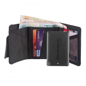 Geldbörse mit RFID Schutz + Powerbank - praktisch, schlank und ideal für die Reise