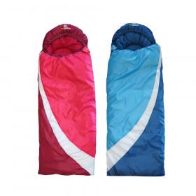 outdoorer DreamSurfer mitwachsender Kinderschlafsack, in Blau oder in Pink