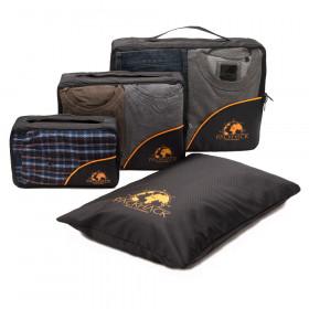 Packwürfel-Set 3 Stück - für perfekte Ordnung im Rucksack oder Koffer