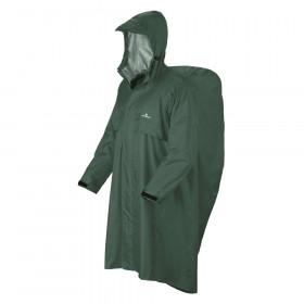 Regenponcho zum Wandern mit Rucksackschutz bis 85 L