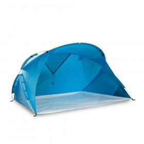 Familien-Strandmuschel Santorin Air - UV80, groß, einfacher Aufbau, windstabil