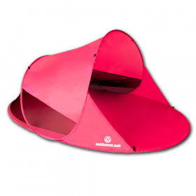 outdoorer Pop Up Strandmuschel Zack II - pink edition