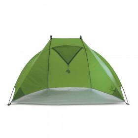 Grüne Helios Air Strandmuschel zum Reisen mit Minipackmaß
