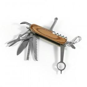 Outdoor Taschenmesser - das 16 in 1 Multifunktions Survival Werkzeug für unterwegs
