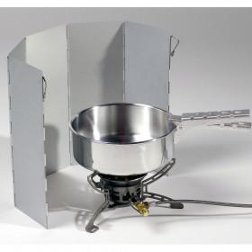 Leichter und kompakter Windschutz für Gaskocher