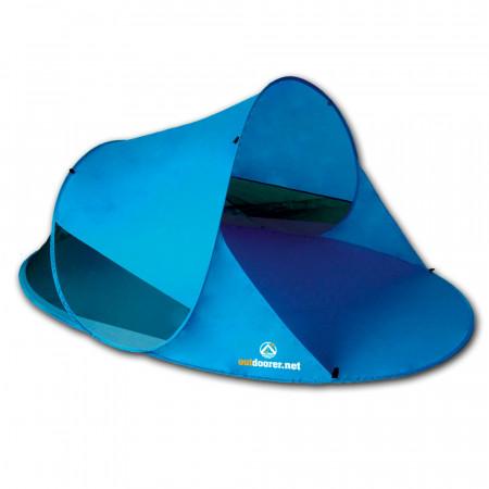 outdoorer Pop Up Strandmuschel Zack II - blau, selbstaufbauend