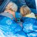 Baby, Kind und Meer Schlafsack mit Zelt