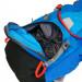 Pilgerrucksack Camino Azul abtrennbares Hauptfach