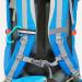 Pilgerrucksack Camino Azul Träger mit Brustgurt