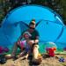 Santorin Air Familienstrandmuschel