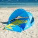 Strandtuch in Strandmuschel