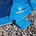 Zack Bodenschutz Verwendung unter Strandmuschel
